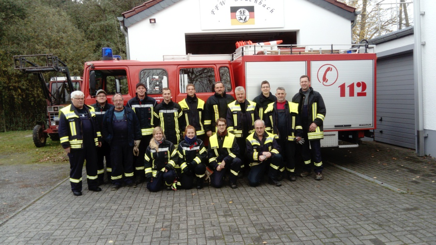 Ein herzliches Dankeschön im Namen der Ortsgemeinde Bodenbach an die Männer  und Frauen der FFW, die jedes Jahr im Herbst die Hydranten winterfest  machen und ... eeac198a2a